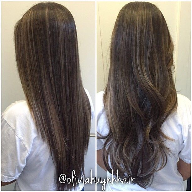 balayage dark hair straight , Buscar con Google \u2026