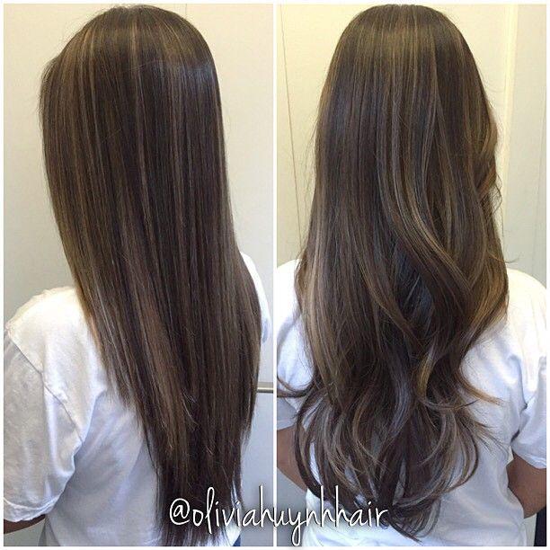 2e3b0e348457da25910986bc98ada5d4 Jpg 612 612 Balayage Straight Hair Brown Hair Balayage Balayage Straight