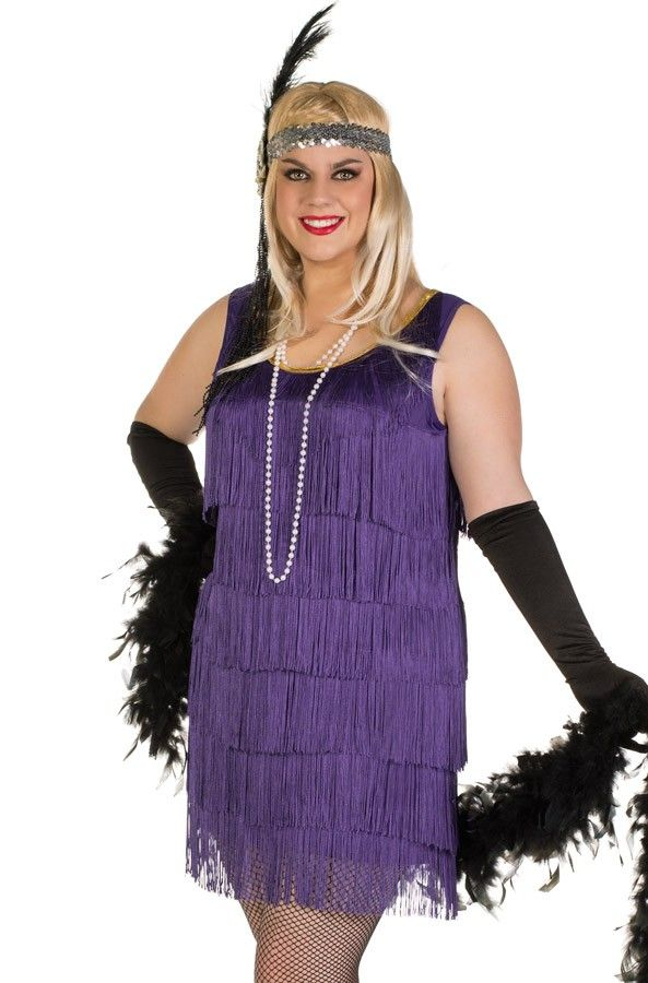 Plus Size Flapper Dress 1920s Speakeasy Flapper Girl Plus Size