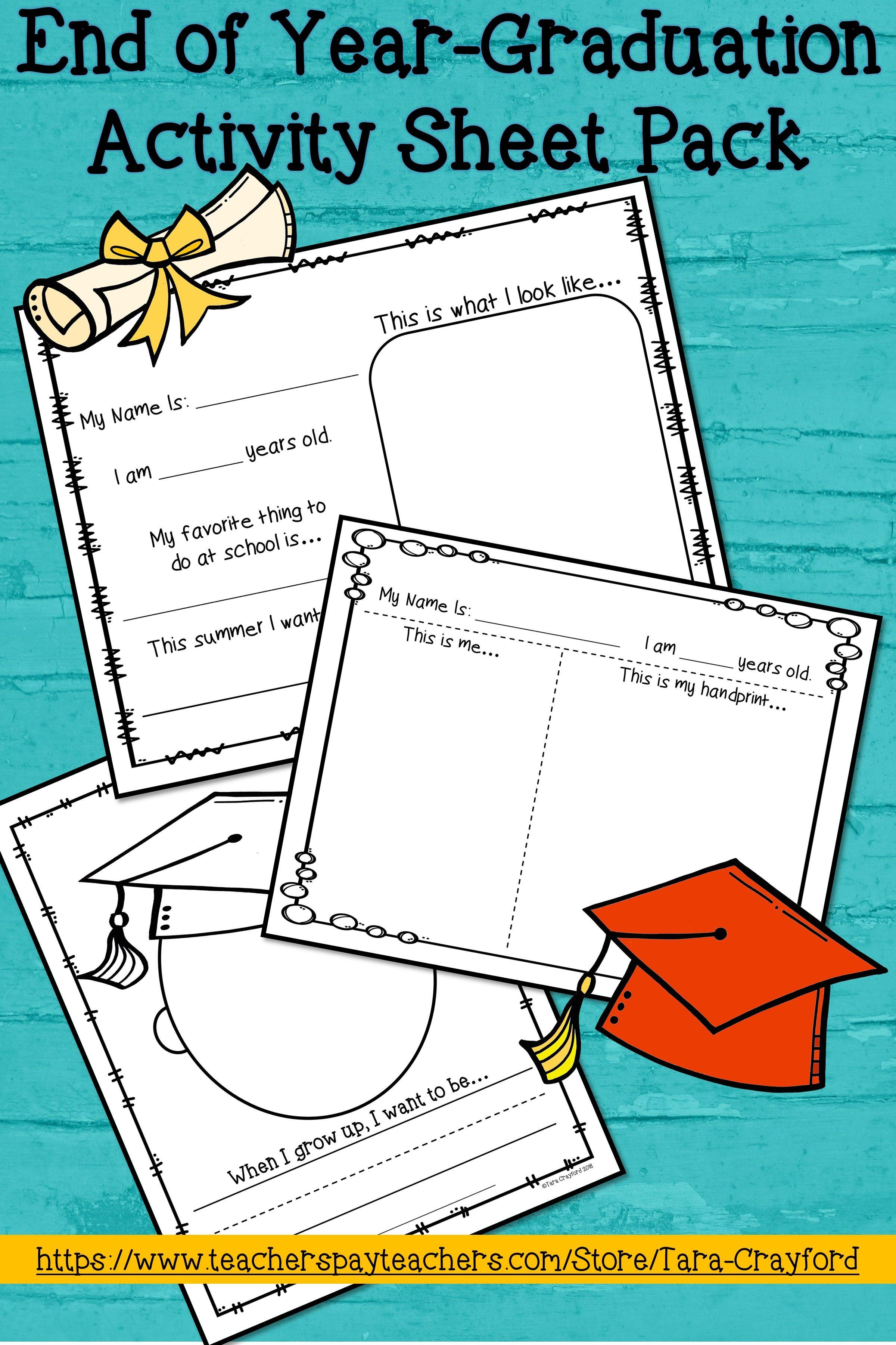 End Of The Year Graduation Printables Graduation Activities Graduation Crafts Preschool Preschool Activities [ 3600 x 2400 Pixel ]