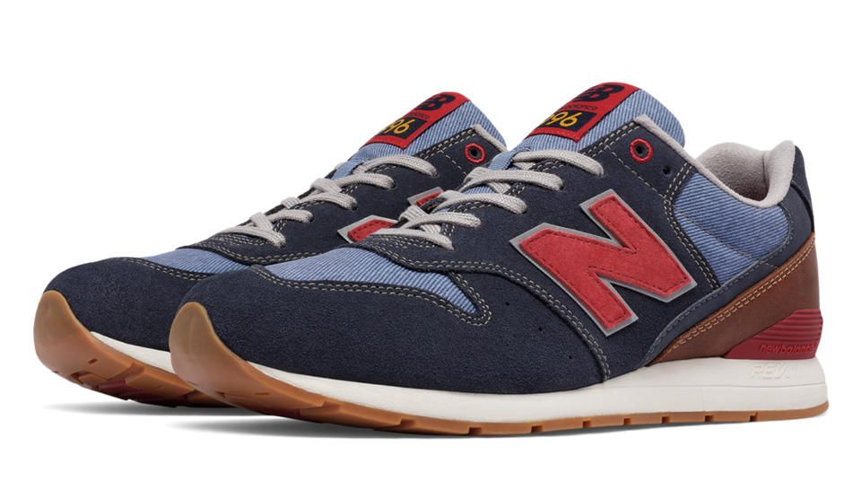 new balance 996 blue suede