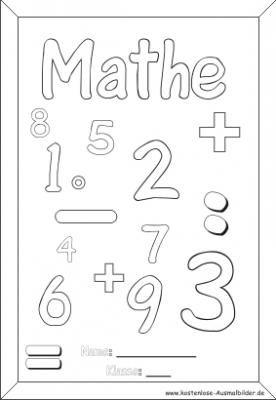 5 beste mathematik ausmalbilder für kinder   ausmalen, ausmalbilder, mathe sprüche