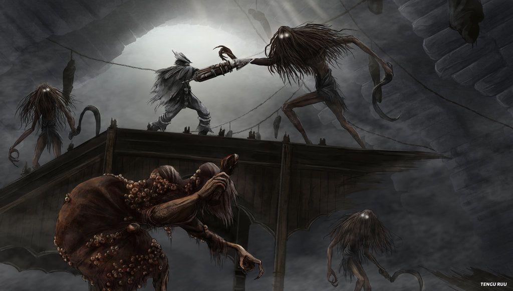 Bloodborne Witch Of Hemwick By Oniruu Bloodborne Bloodborne