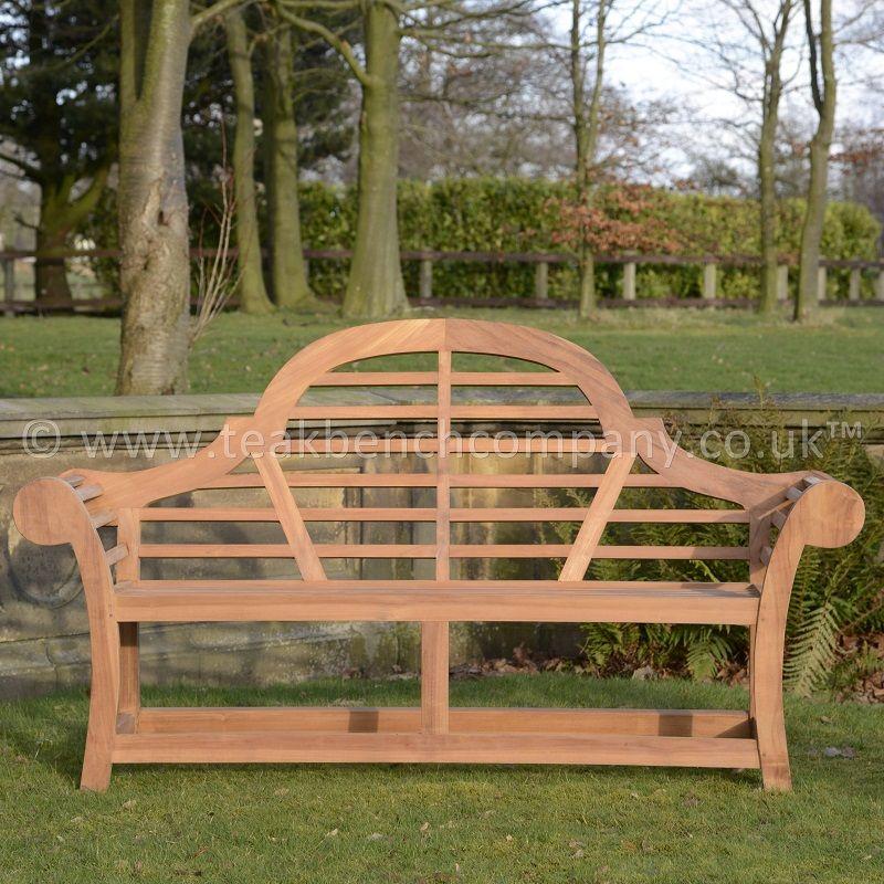 Japanese Edo Teak Garden Bench 170cm  Teak Garden Benches