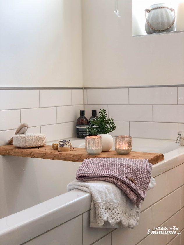 DIY: Badewannenablage aus Holz selber machen WOHNKLAMOTTE