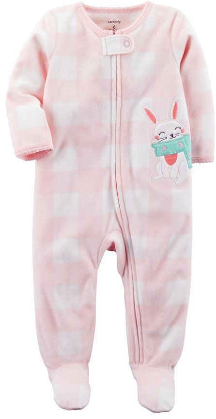 Carter/'s Baby Toddler Girls One Piece Fleece Blanket Sleeper Several Choices NWT