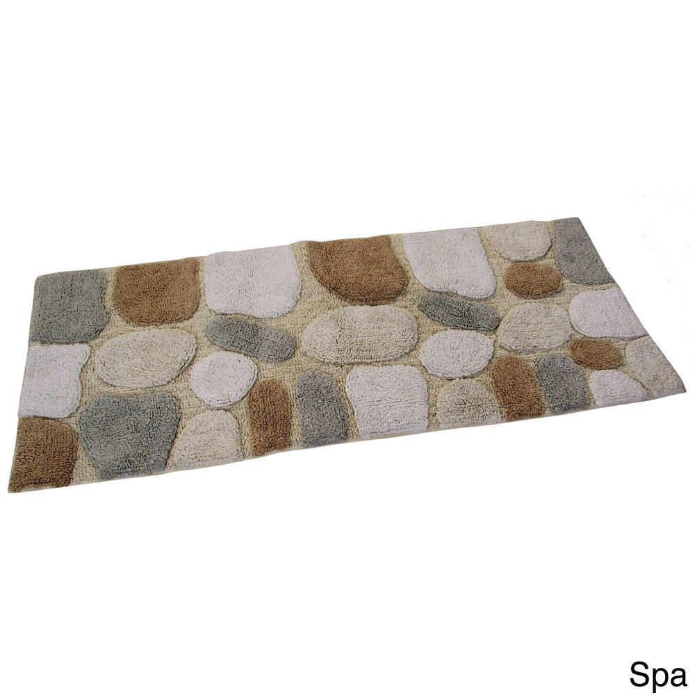 spa rockway collection cotton bath rug runner overstock