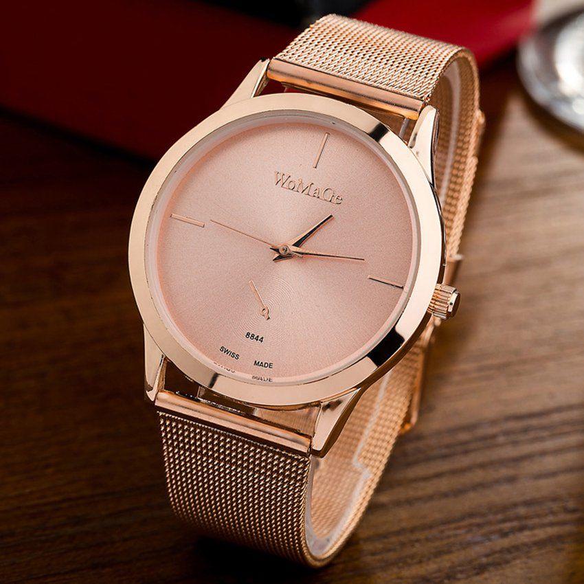 07bad21e9894 Compra Reloj Geneva Elegance - Rose Gold online ✓ Encuentra los mejores  productos Relojes mujer Geneva en Linio México ✓