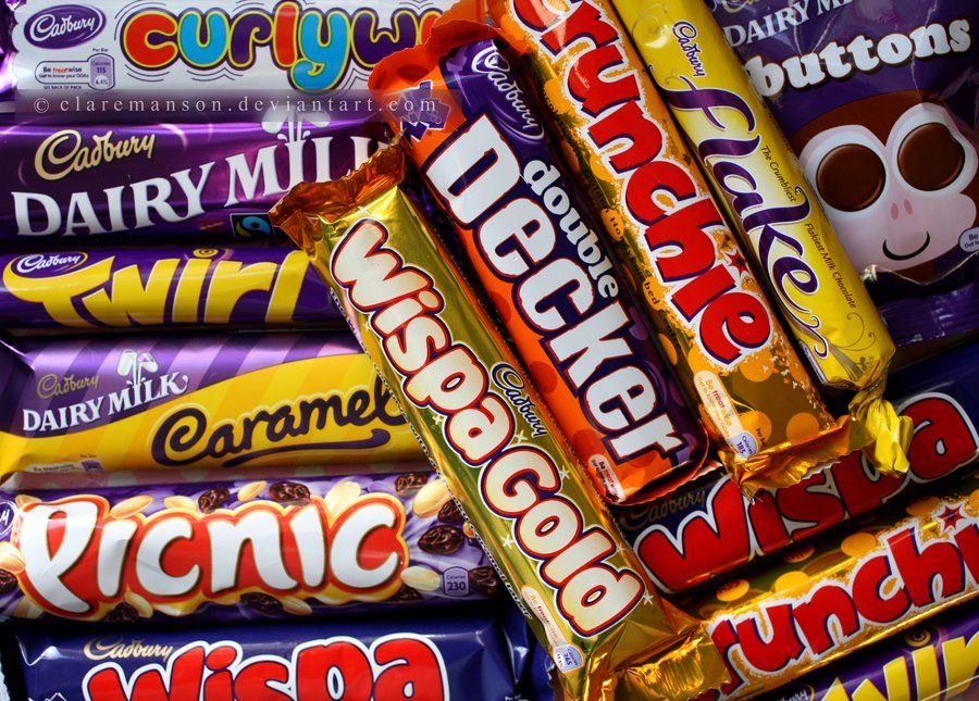 Cadbury Chocolate And The Natural Confectionary Lollies Sale