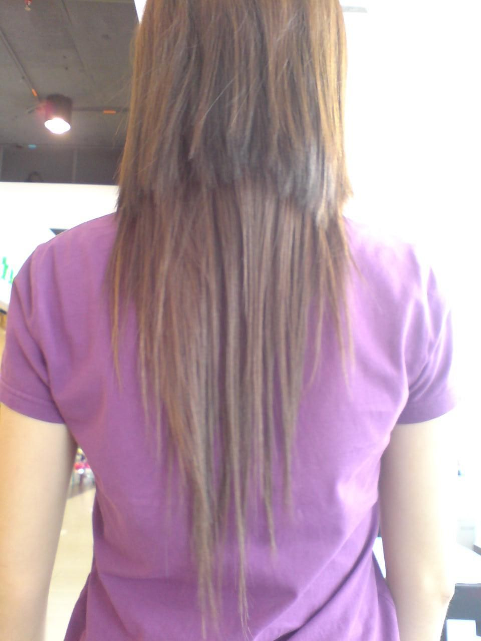 straight hair back view tumblr wwwimgkidcom the