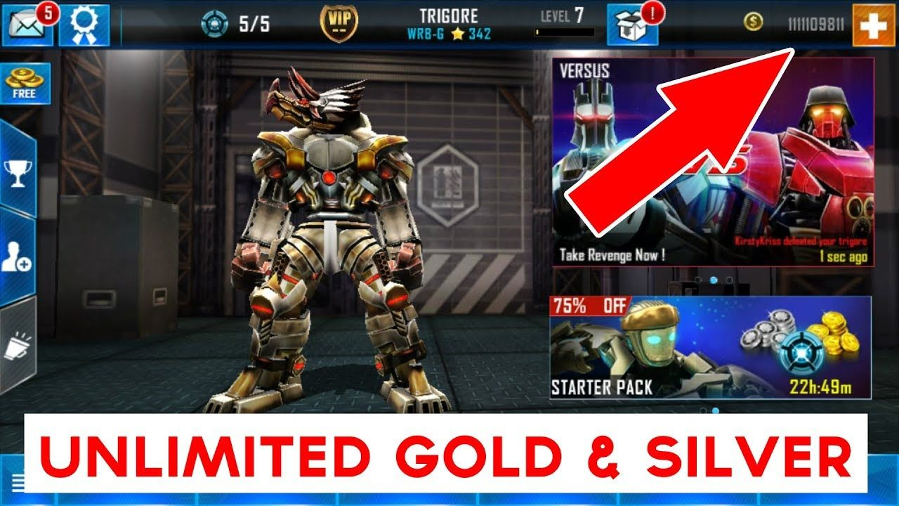 Real Steel World Robot Boxing Hack 37 37 184 Unlimited Gold