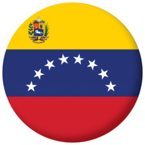 Venezuela 8 Stars And Crest Country Flag Country Flags Flag Pin Button Badges