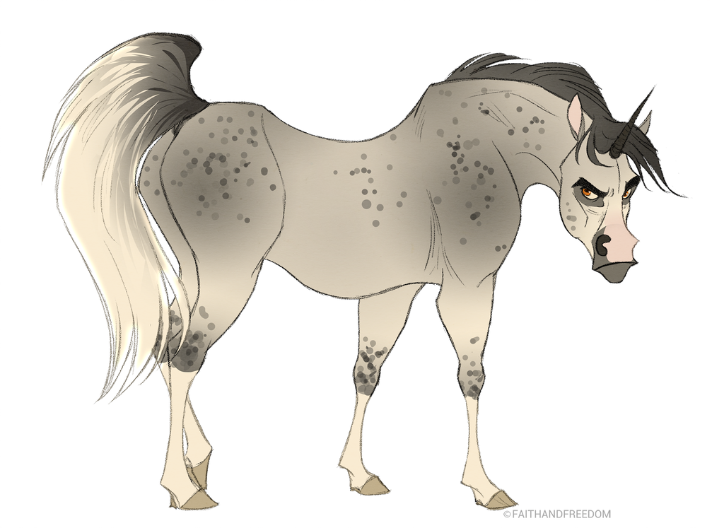 Junicorn DAY 2: Arabian Unicorn By Faithandfreedom