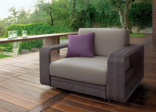 Outdoor Sofa   Luxury Modern Rattan (Barbados) LUXURY PATIO FURNITURE  COMPANY Luxury Rattan Modular