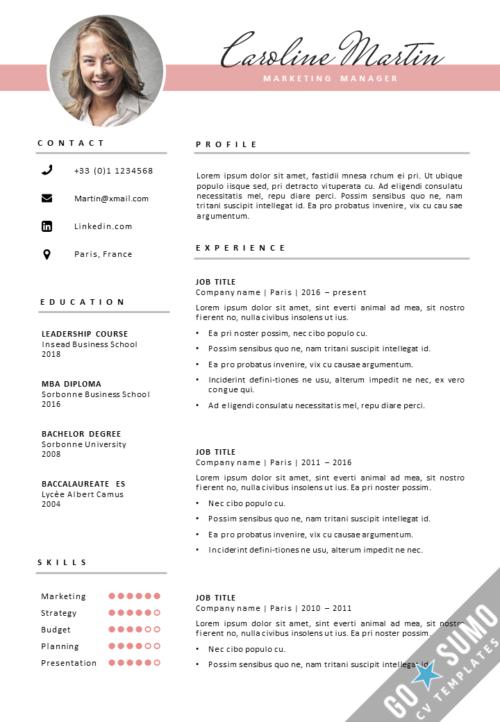 Cv Template London Cv Cover Letter Template In Word Desain Resume Cv Kreatif Desain Cv