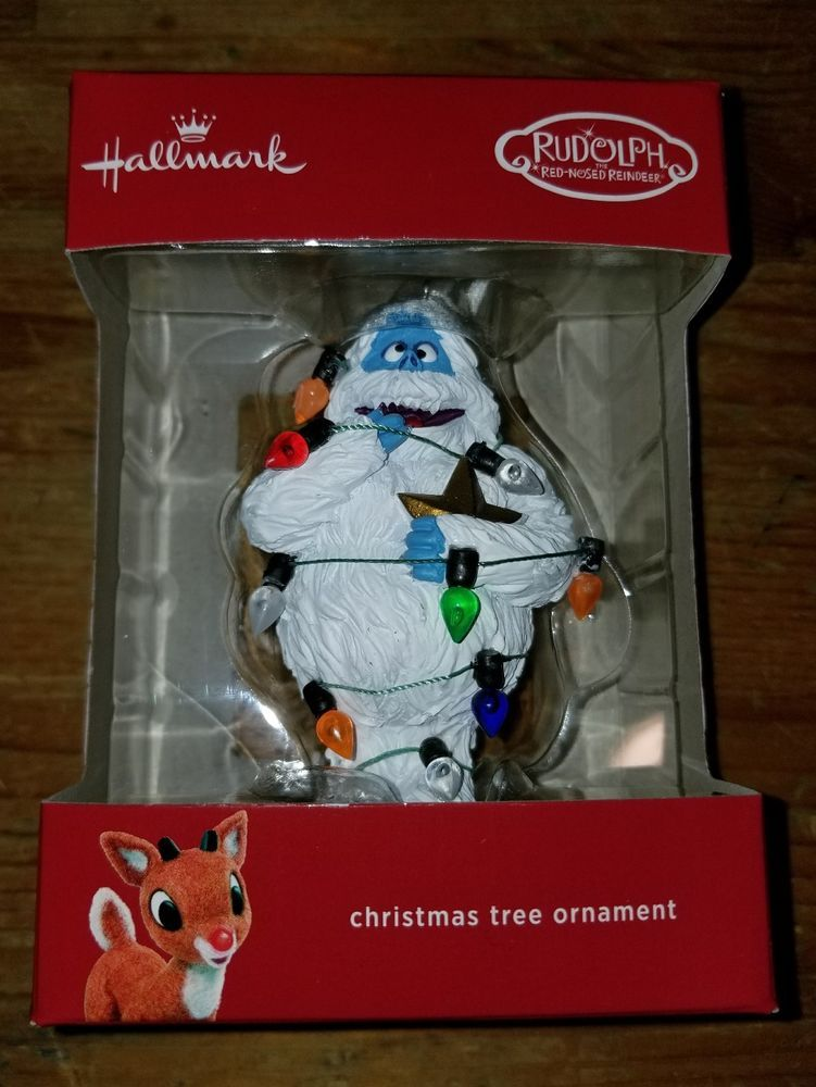 Bumble Abominable Snowman Ornament Rudolph Island of Misfit Toys