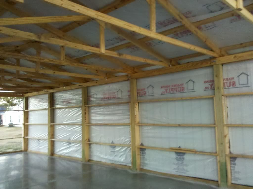 Pole Building With Block Wall : Weather proofing pole barn pinterest
