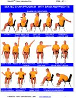 chair exercises for seniors bing images therapy ideas