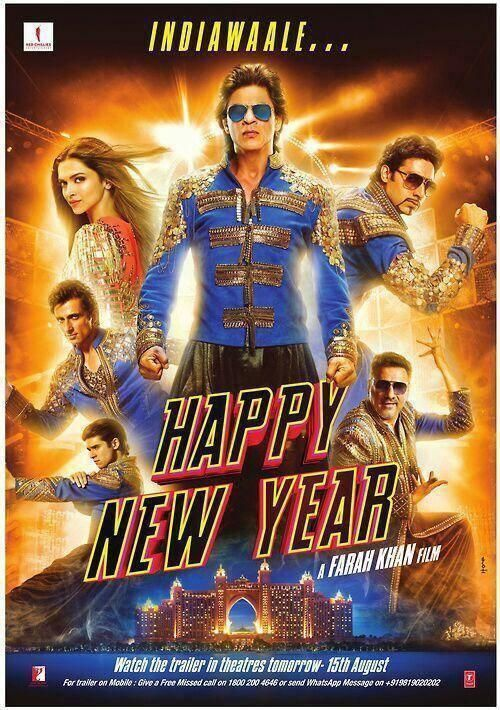 Twitter Thefarahkhan Only A Few Hours More N My Happy New Year Movie Happy New Year Bollywood New Year Movie