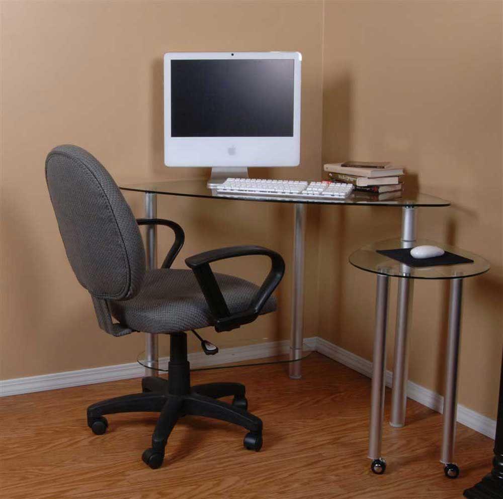 - 99+ Corner Glass Computer Desk - Home Office Furniture Desk Check