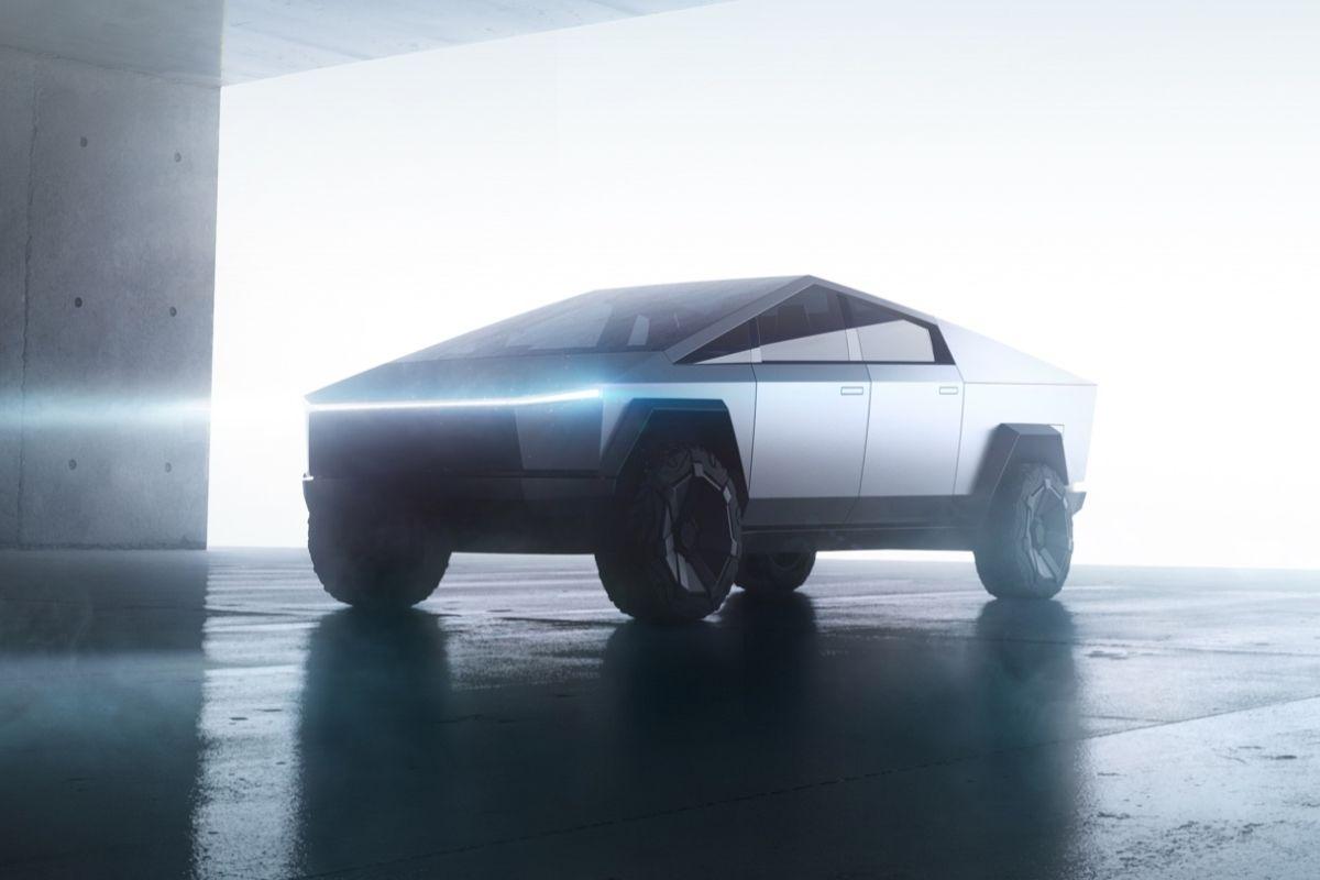 Tesla Elon Musk Deutet Erneut Kleineren Cybertruck Fur Europa An Tesla Elektroauto
