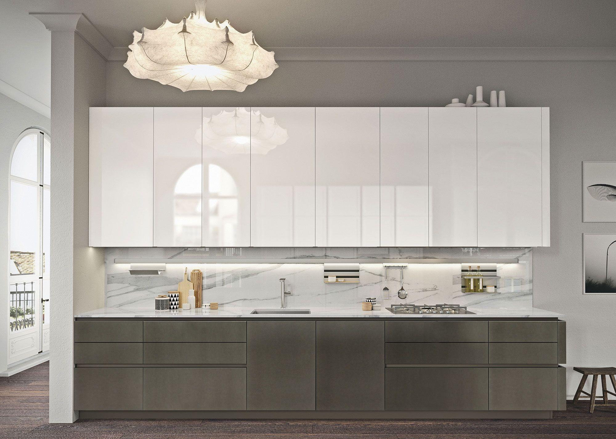 Cucine Componibili Moderne: Design Michele Marcon Per Look | Snaidero