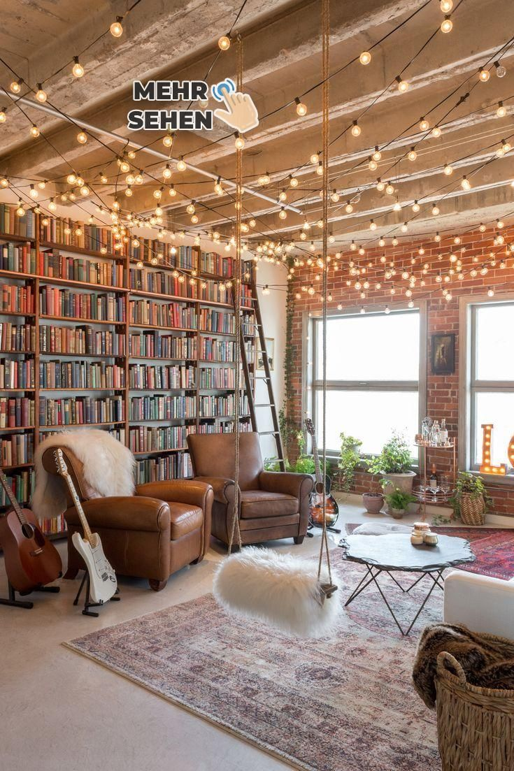 An Artsy Downtown Loft in LA Bursting with Books -  # #machesselbst–diy