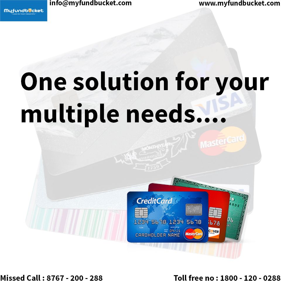 A Credit Card to fulfill all your requirements Visit www