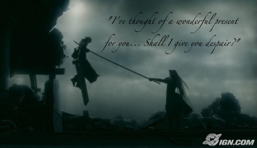 sephiroth quotes gallery sephiroth final fantasy vii final fantasy