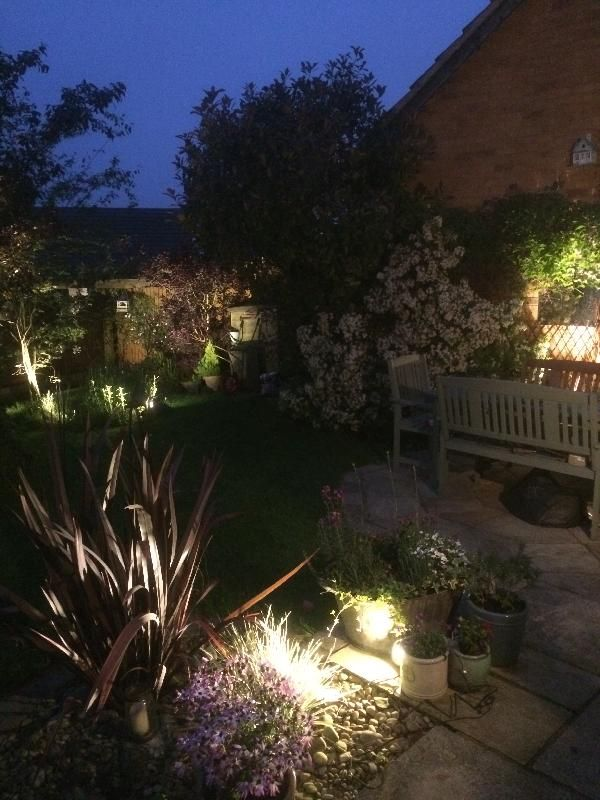 Techmar 12v plug play garden lighting customer photos feefo