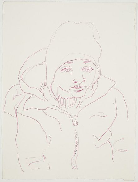 Ben Quilty's haunting drawings of refugees from Syria – in pictures