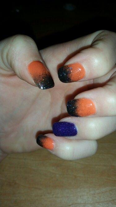 Halloween Sns Sns Nails Holiday Nails Sns Nails Designs