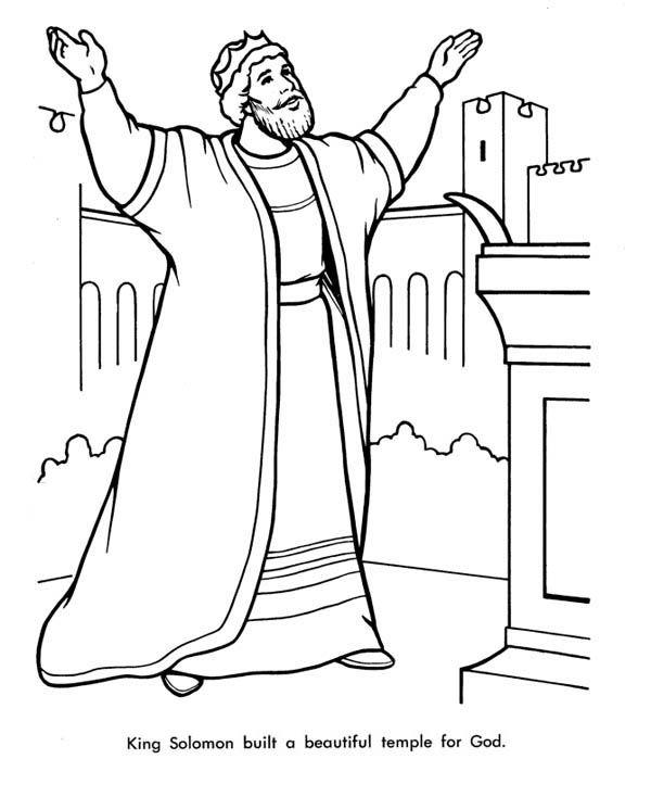 Solomon Temple Color Sheet Google Search Coloring Pages Bible