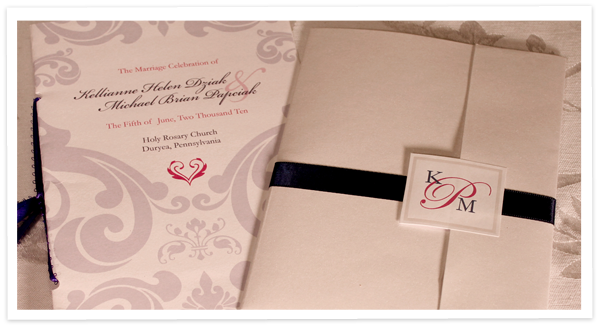 Simple Traditional Invites with a fun twist for the programs