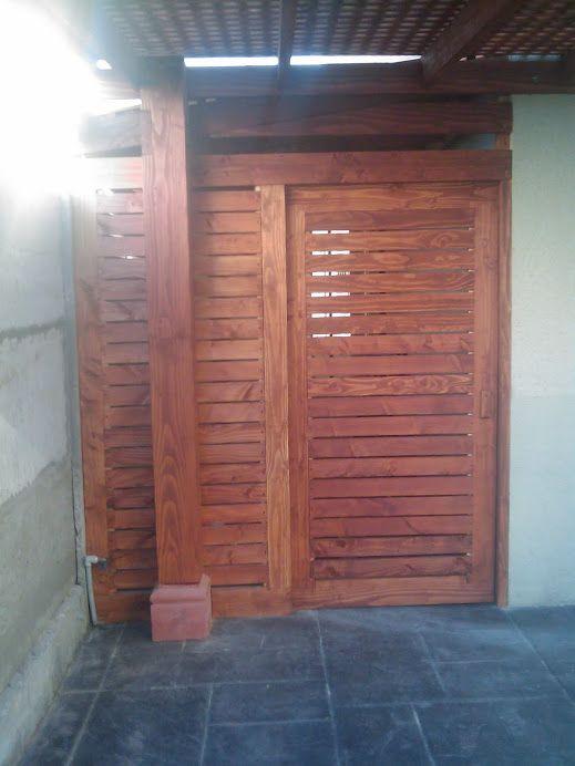 Mampara Altos De Huechuraba Backyard Quinchos Pérgolas