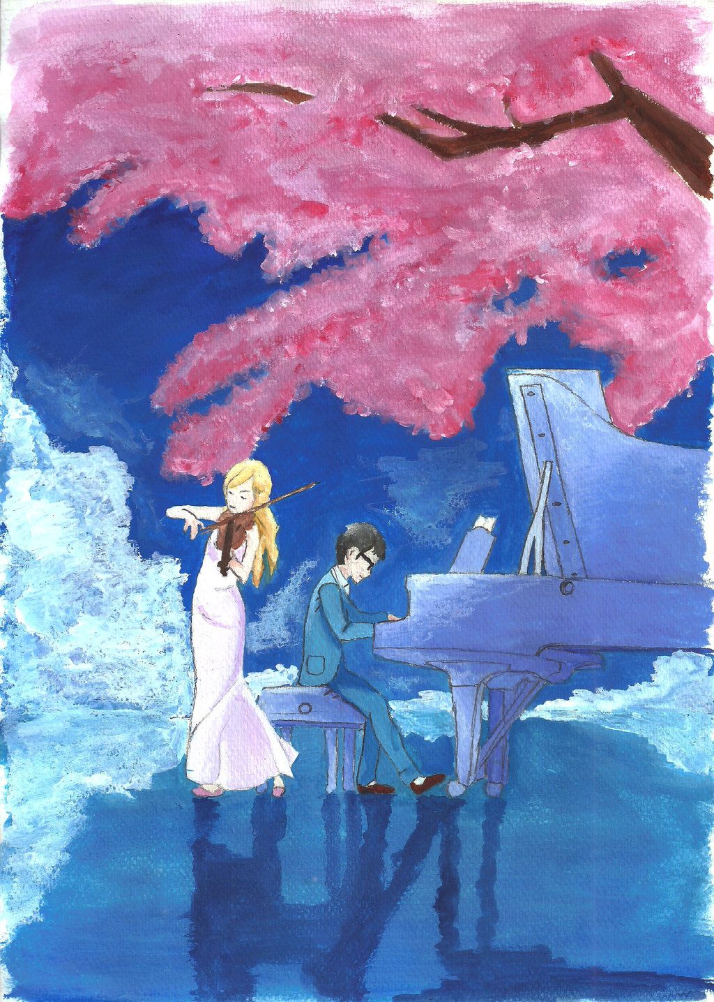 Related image Your lie in april, April art, Anime