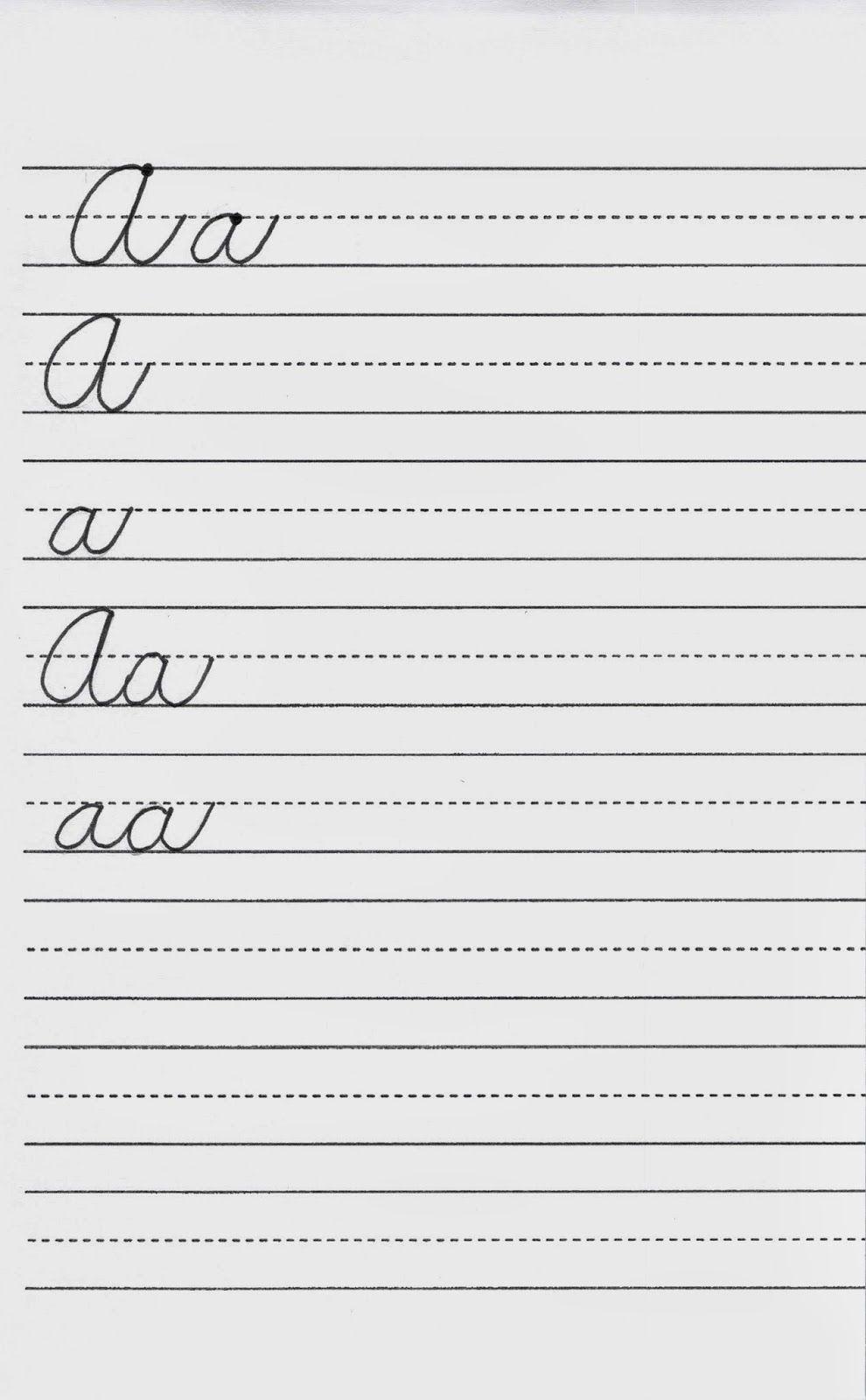 Introducing The Cursive Project Learning Cursive Cursive Cursive Writing [ 1600 x 990 Pixel ]
