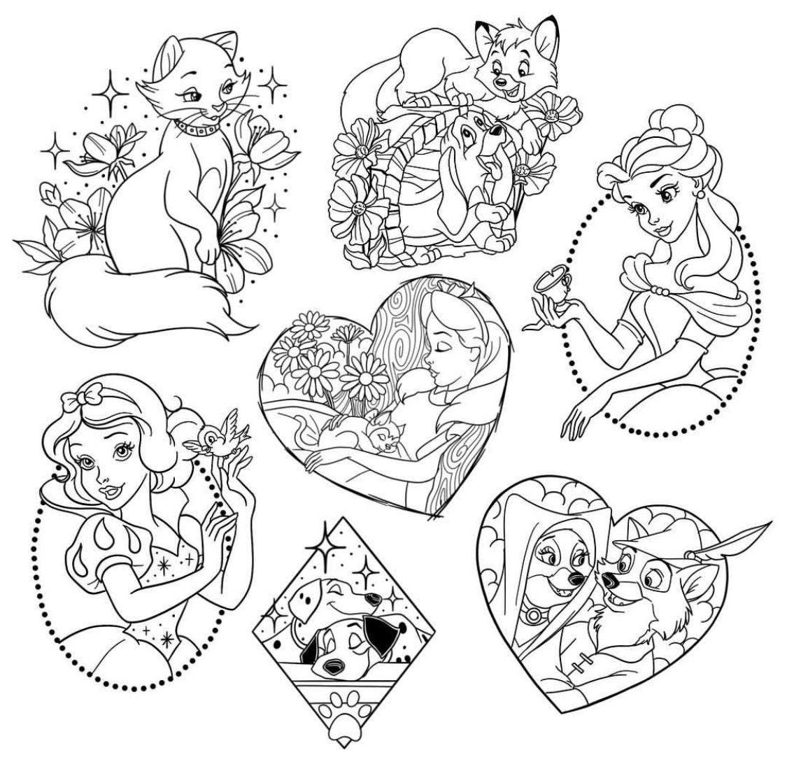 Seria Increible Tener Duquesa Pero Me Gustaria Obtener El Robin Hood Si Seria Increible Tener Du In 2020 Disney Tattoos Disney Coloring Pages Disney Drawings