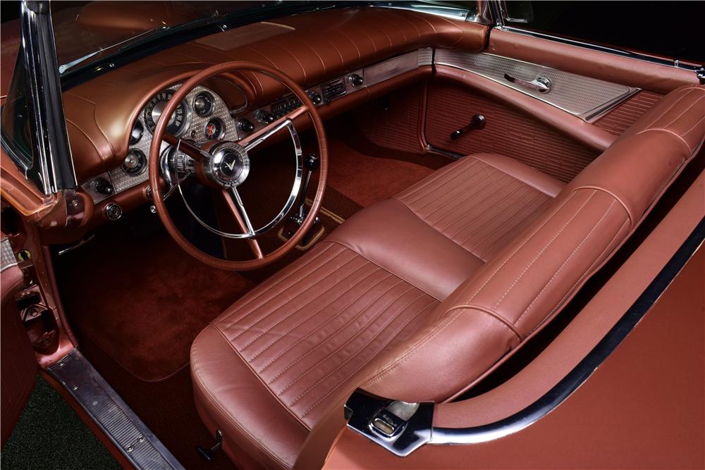 1957 Ford Thunderbird E Code Convertible Interior 217684 Ford Thunderbird Thunderbird Convertible