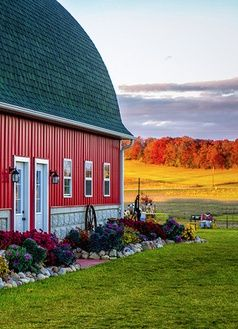 Flower Bed Barn