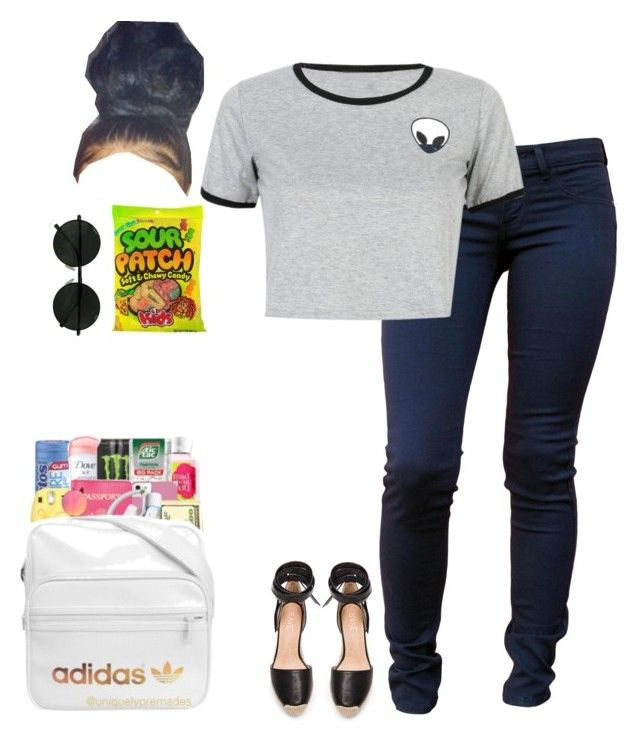 """""""School 💓"""" by ryan2151 ❤ liked on Polyvore featuring Wildfox, WithChic and Raye"""