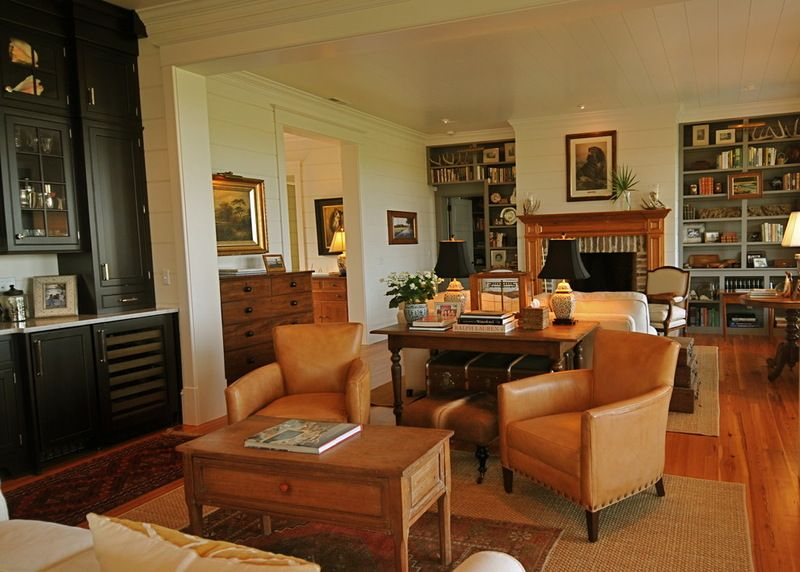 Double Living Room Multiple Conversation Areas Traditional