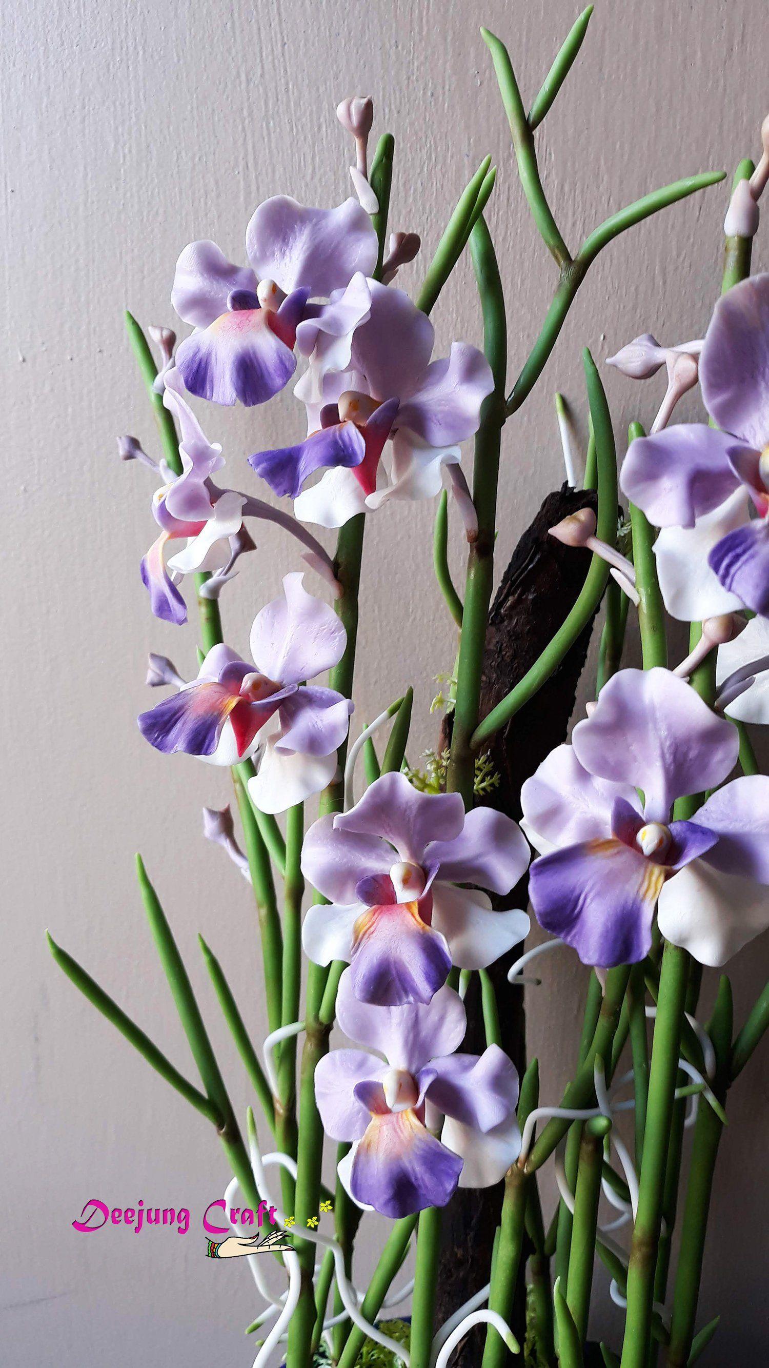 My Etsy Shop Vanda Miss Joaquim Gift Homedecor Purpleorchids Tropicalorchids Conservatory Flower Hawai Handmade Etsy Gifts Etsy Crafts Flower Creation