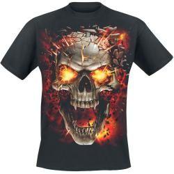 Photo of Spiral Skull Blast T-Shirt Spiral DirectSpiral Direct