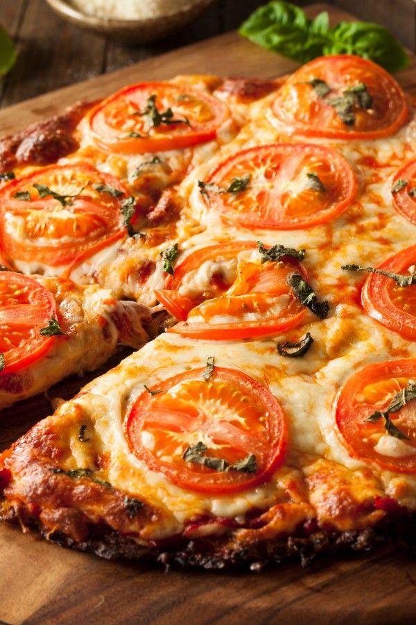 Basso contenuto di carboidrati: pizza con base di cavolfiore