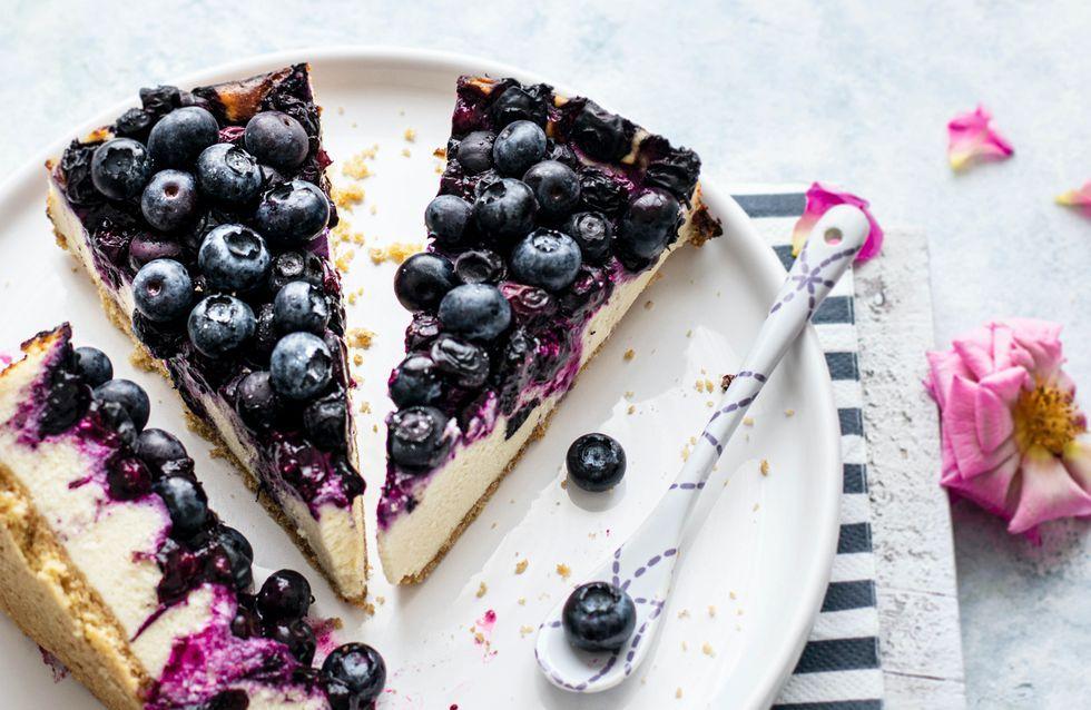 Blueberry Cheesecake ohne Backen: Weltbestes Rezept