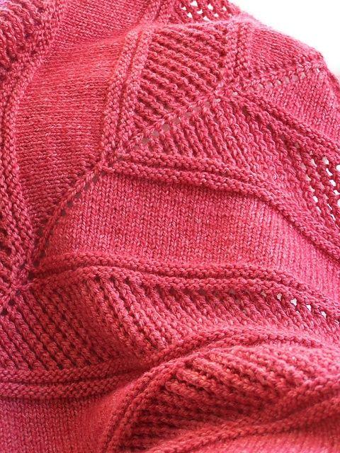 Textured Shawl Knitting Patterns Ravelry Free Pattern And Shawl