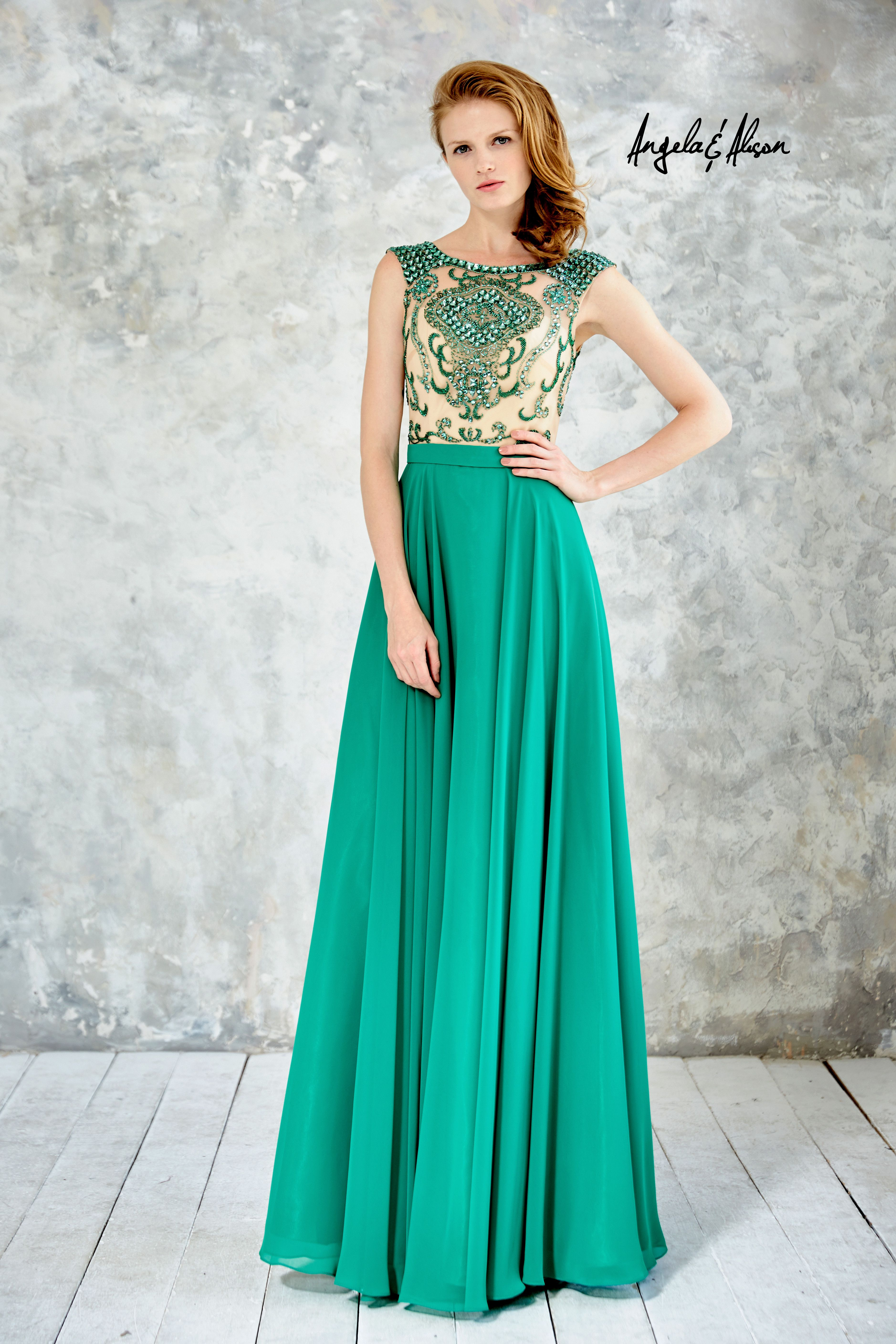 Available in Hot Red, Ivory, Emerald. Size: 0-20 | Green Dresses ...