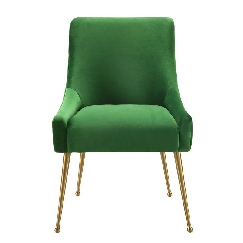 Deébora Dining Chair & Reviews   AllModern   Velvet dining ...