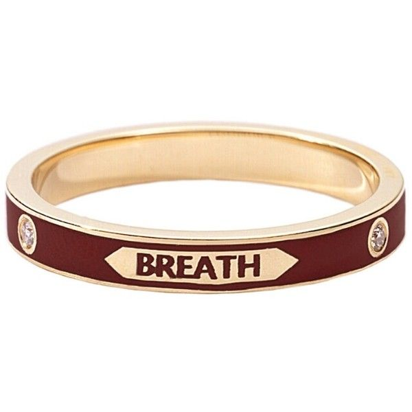 with every breath thin band ring Foundrae nyiq0